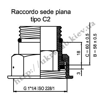 DSR-10S,L –BP STF присоетельная гайка