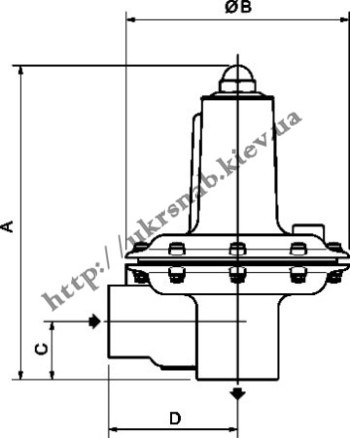 Tartarini V-62 DN40/50 чертеж